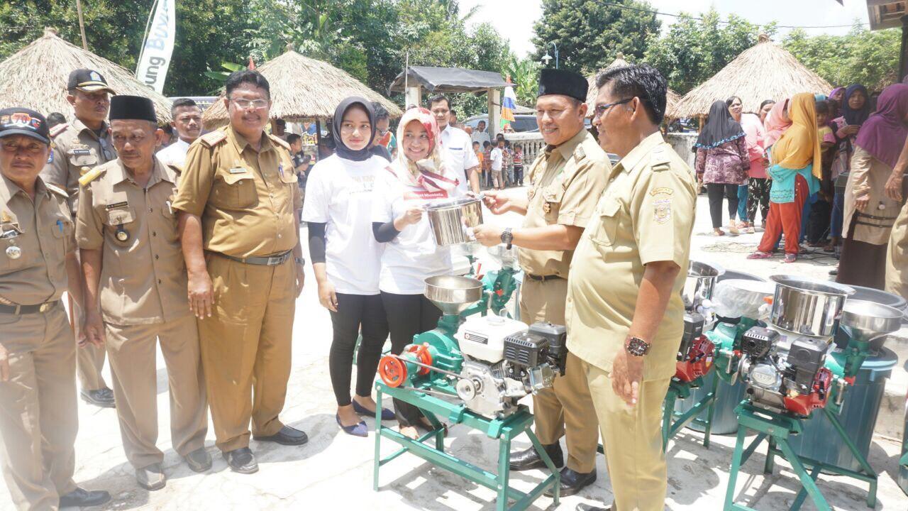 LAMPUNG POST | Dua Kampung Desmigratif Lampung Tengah Dicanangkan Jadi Kampung Kece