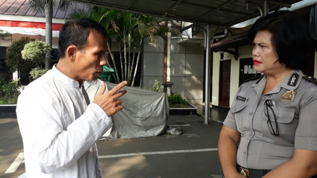 LAMPUNG POST | Pelapor terhadap Kaesang Marah-marah Datangi Mapolresta Bekasi