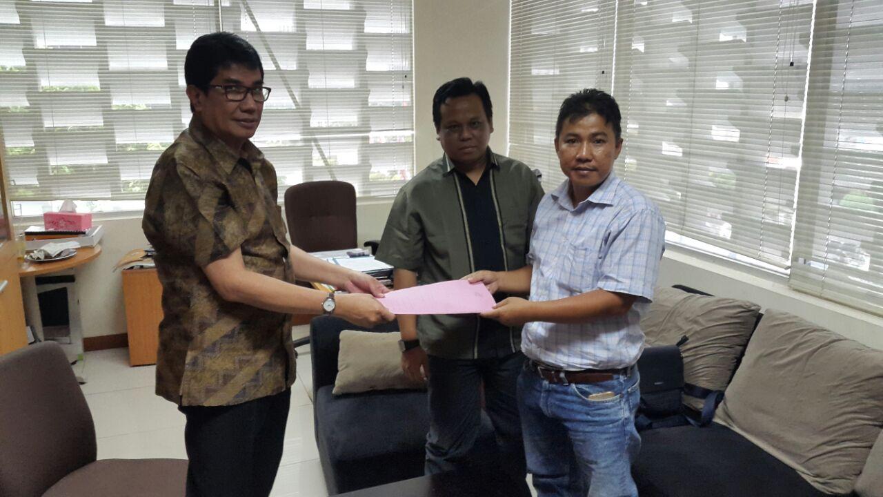 LAMPUNG POST   Koalisi Rakyat Lampung untuk Pemilu Bersih Kirim Laporan kepada DKPP RI