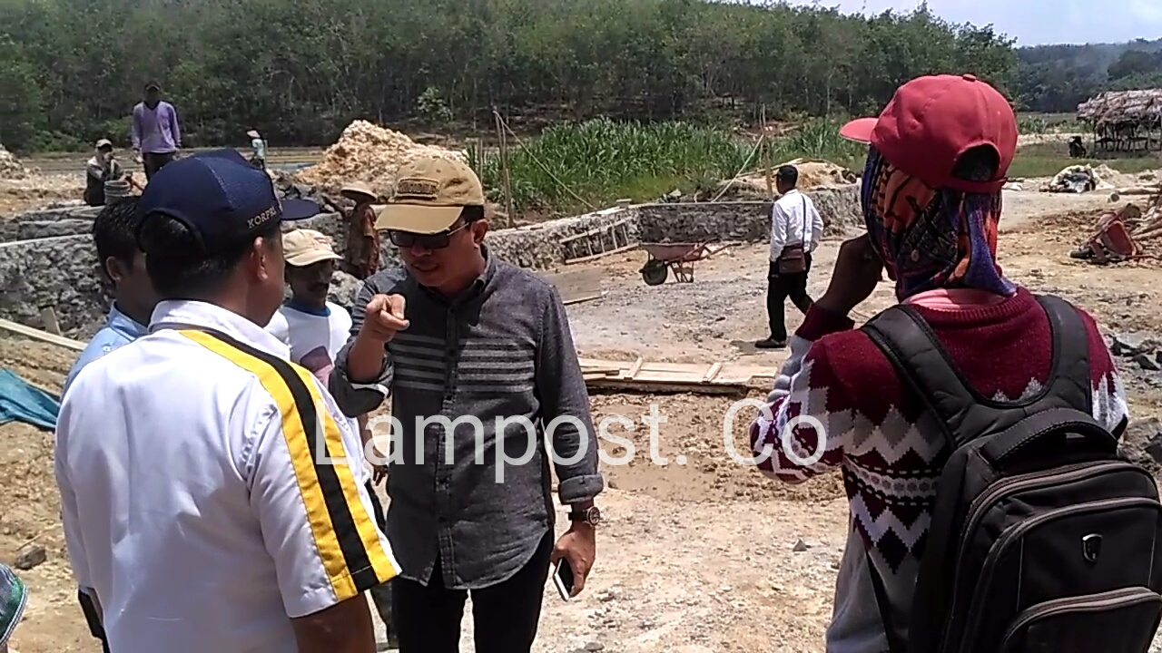 Komisi C Tubaba Minta Rekanan Pembangun Irigasi Bekerja Profesional
