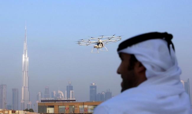 LAMPUNG POST | Taksi Terbang di Dubai Mulai Mendekati Kenyataan
