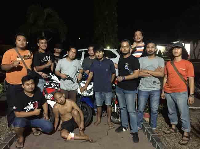 Polisi di Lampura Tembak Pencuri Motor