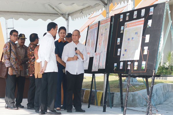 LAMPUNG POST | Ruas Tol Jombang-Mojokerto Gunakan Metode Pembangunan Ramah Lingkungan