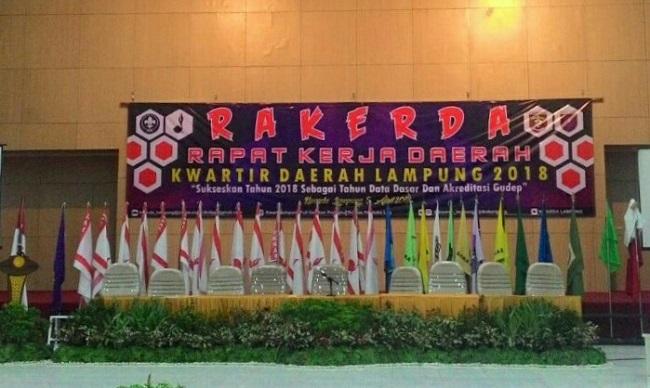 Kwarda Pramuka Lampung Gelar Rakerda