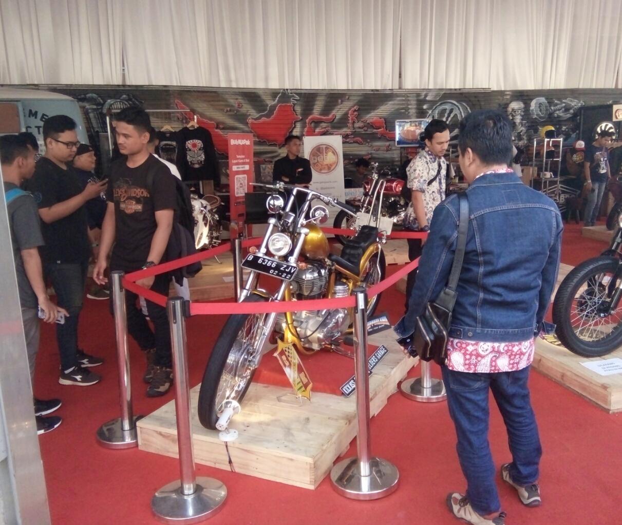 LAMPUNG POST   Motor Jokowi Masih Jadi Primadona di IIMS 2018