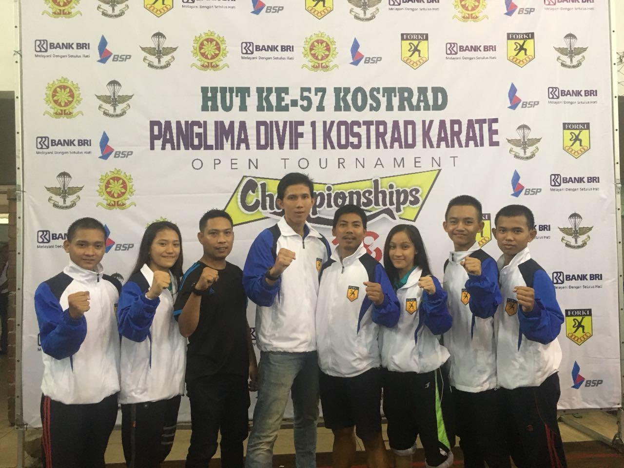 Atlet PPLP Raih 3 Medali di Open Tournamen Karate Championships