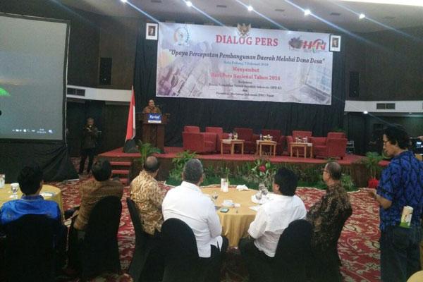 PWI Komitmen Sukseskan Program Dana Desa