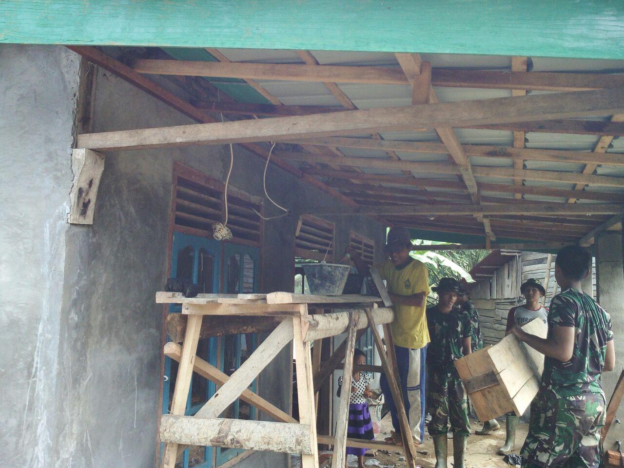 LAMPUNG POST | Warga Pekon Ulomukti dan Bumirati Bersiap Terima Pembangunan dari TMMD ke-100