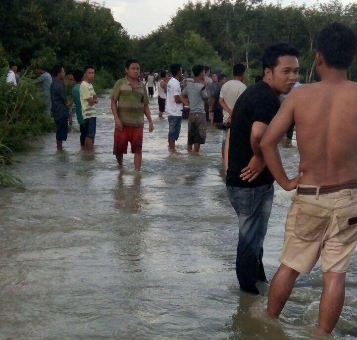Terbawa Arus Sungai, Remaja Muara Sungkai Belum Ditemukan
