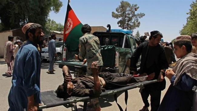 LAMPUNG POST | 34 Orang Tewas dalam Ledakan Bom Mobil di Bank Afghanistan