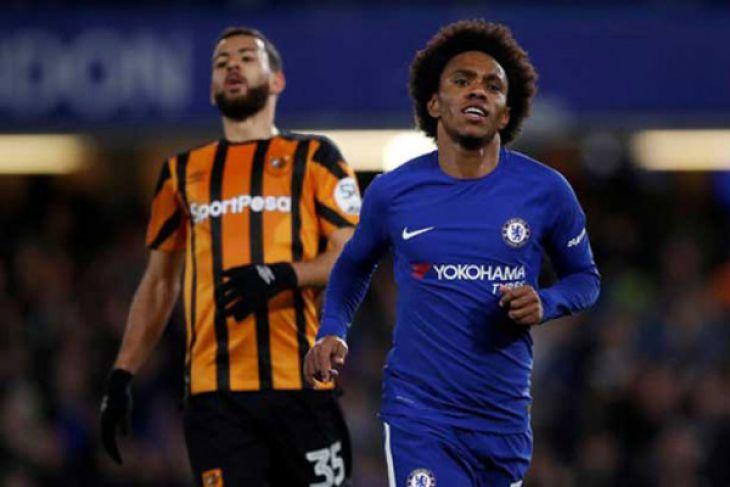 LAMPUNG POST   Chelsea Lumatkan Hull City 4-0