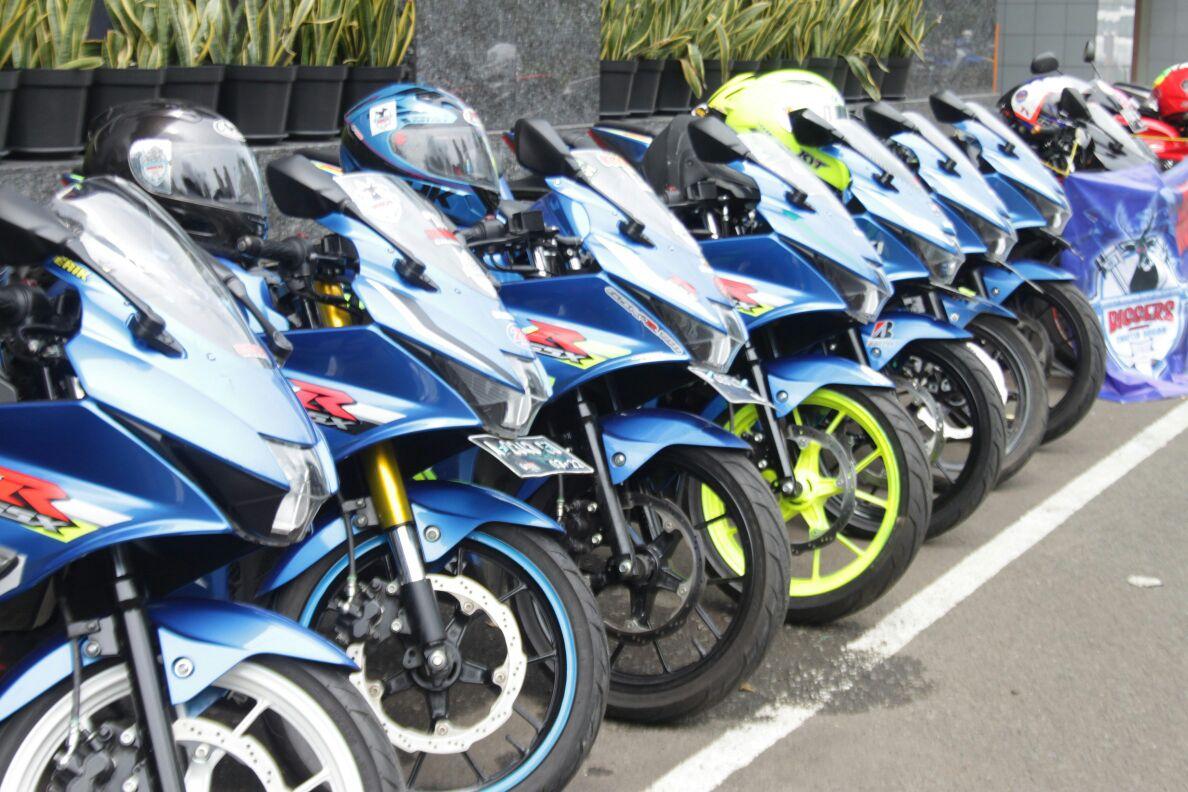 Komunitas Suzuki GSX-150 Gelar Touring Wisata Season 2