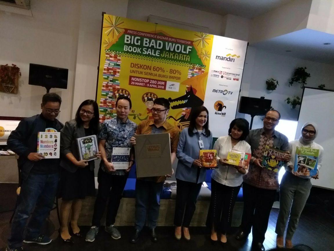 LAMPUNG POST | Minat Baca Indonesia Rendah, Pameran Buku Terbesar Asia Tenggara Kembali di Gelar