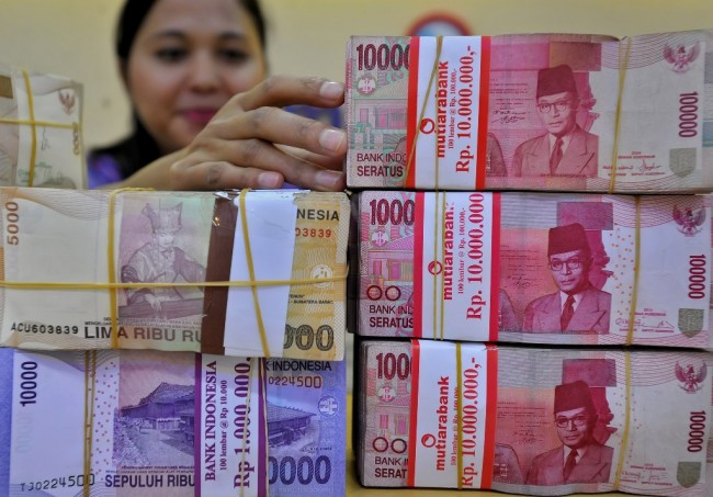 LAMPUNG POST | Rupiah Melemah Tipis ke Level Rp13.475/USD