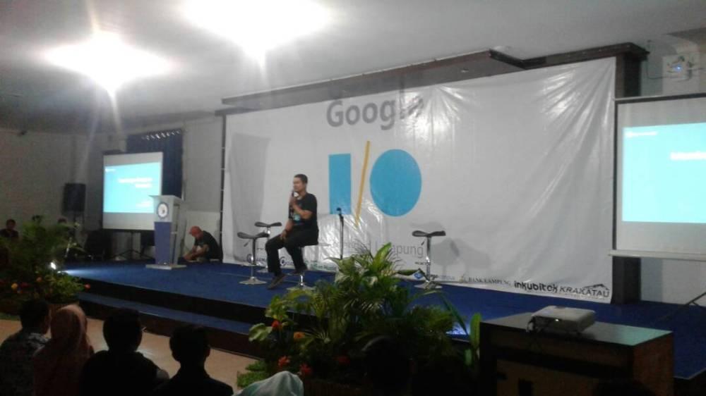 LAMPUNG POST | Event Google I/O Extended Lampung Diminati Anak Muda