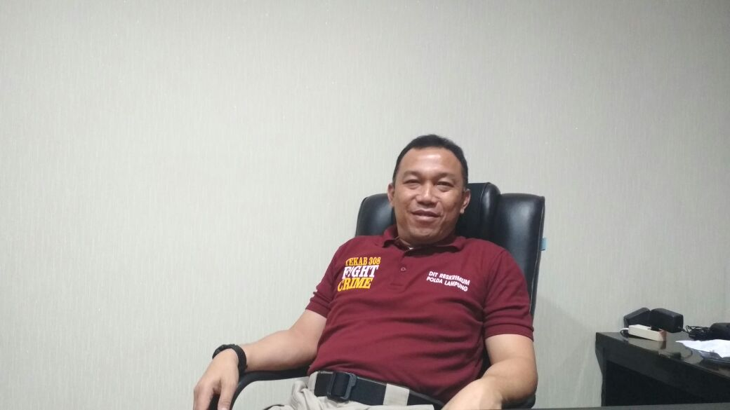 Alay Jadi Tahanan Titipan di Polda Lampung