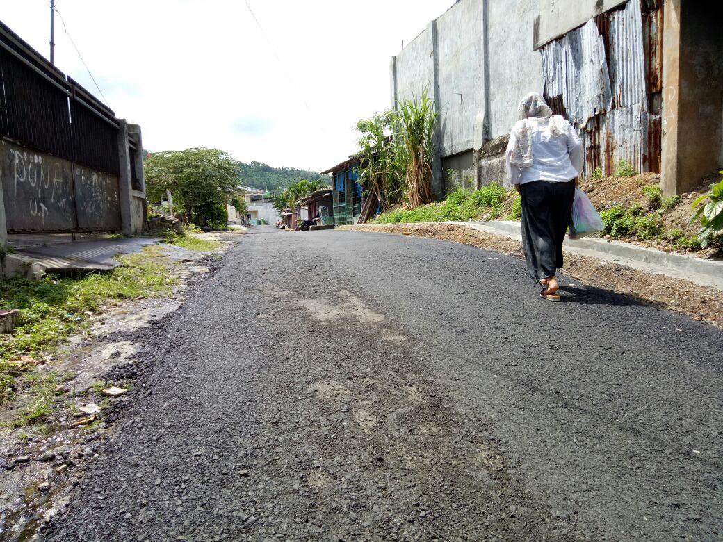LAMPUNG POST | Baru Diperbaiki, Jalan Latasir di Kalianda Kembali Rusak