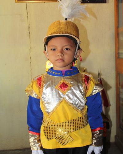 LAMPUNG POST | Virginia Indri Rahayu Pandai Menghafal Surah Pendek