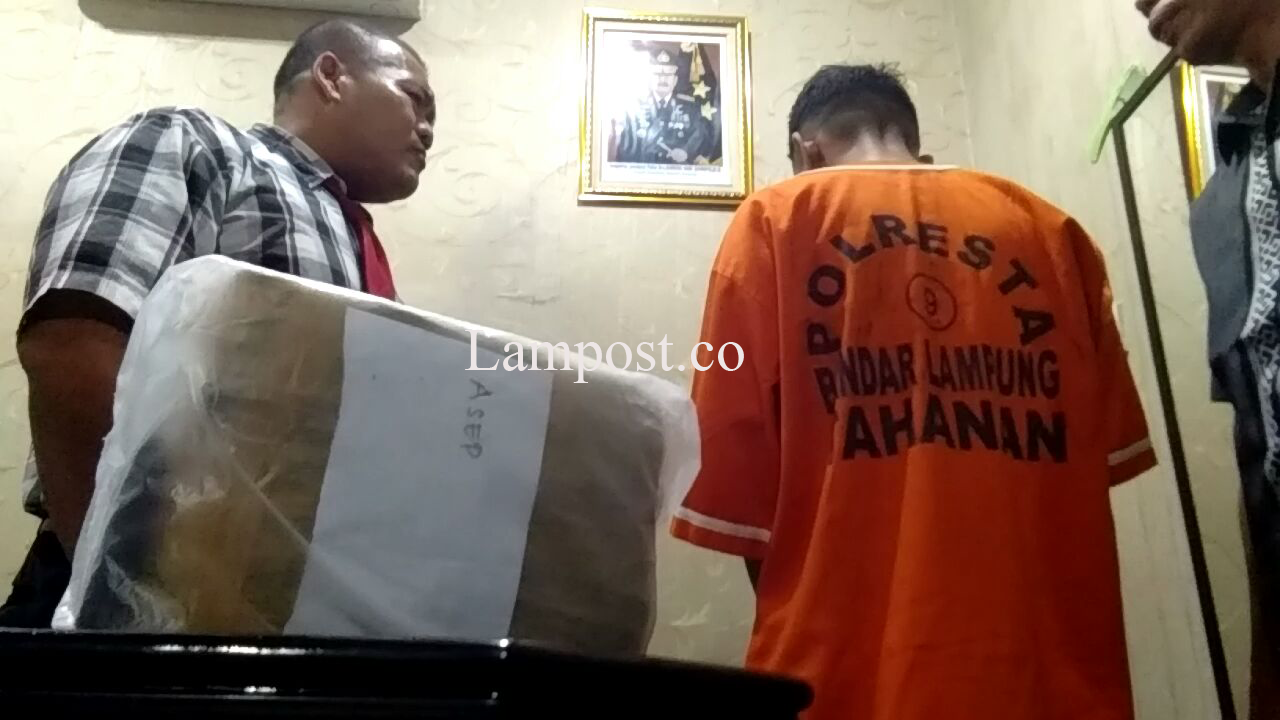 LAMPUNG POST   VIDEO: Jadi Kurir Ganja Karena Butuh Uang Rp300 Ribu Buat Berobat Anak