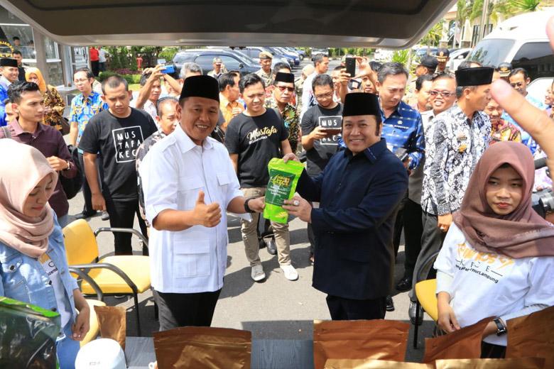 LAMPUNG POST | Mustafa Sambangi Lampung Selatan