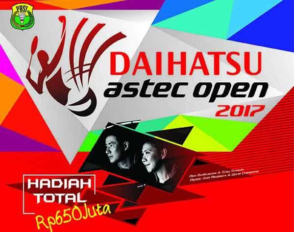 LAMPUNG POST | Daihatsu-Astec Open 2017 Jaring Bibit Pebulu Tangkis di Balikpapan