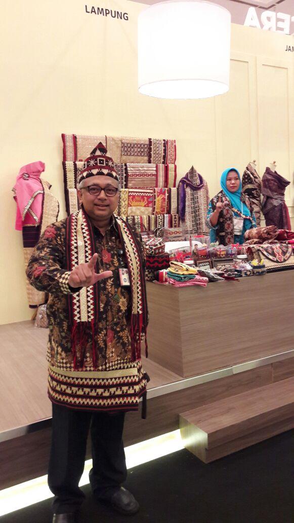 LAMPUNG POST | Bank Indonesia Perkenalkan Nilai Budaya Lampung di Ajang KKI 2017