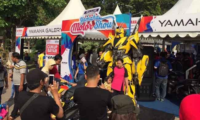 LAMPUNG POST | Ini Kota Pertama Ajang Blue Core Yamaha Motor Show