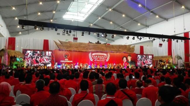 Sejumlah Tokoh Hadiri Rakornas Tiga Pilar PDIP
