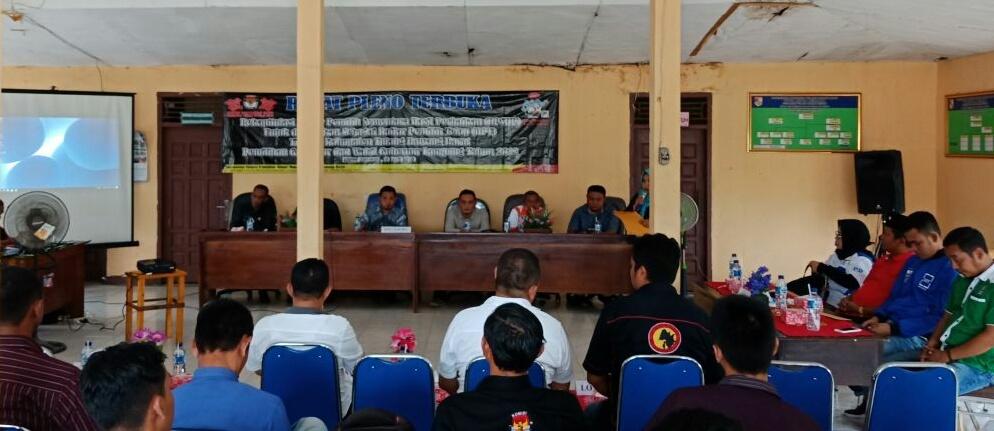 Hasil Pleno DPT KPU Tubaba Ada 188.998 Pemilih