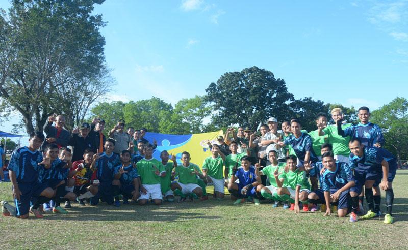 LAMPUNG POST | Lampung Tengah Lumbung Atlet Sepak Bola
