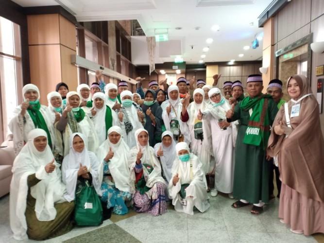 Calhaj Kloter I Langsung Lakukan Salat Arbain di Madinah