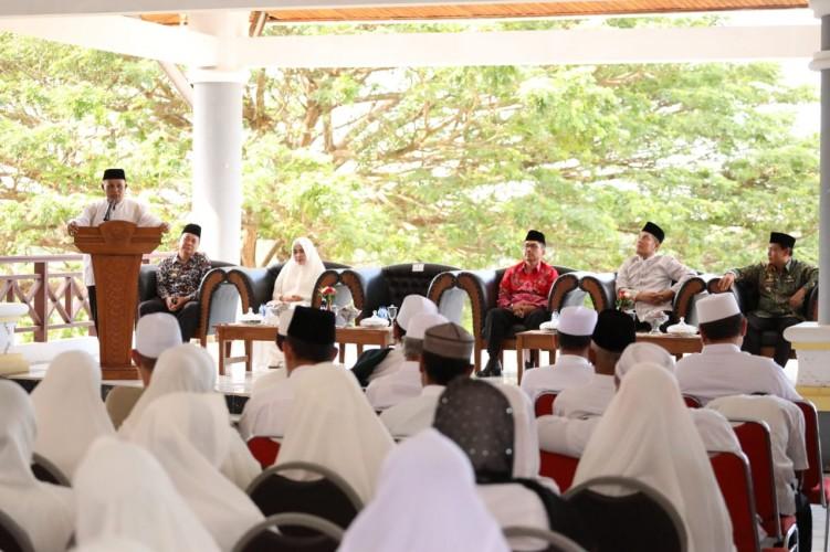 Calon Jemaah Haji Lamsel, Zikir dan Doa Bersama