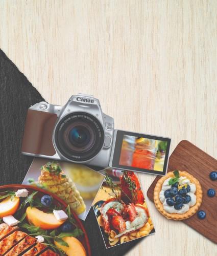 Canon Luncurkan Kamera DSLR Ukuran Kecil