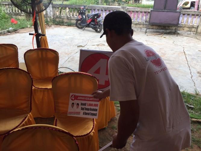 Cawagub Jajuli Gelar Kampanye Ke-14 di Lamtim