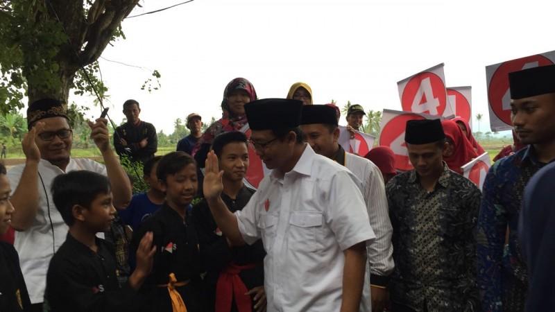 Cawagub Jajuli Kampanye KJ4 di Hadapan Ratusan Petani Pringsewu