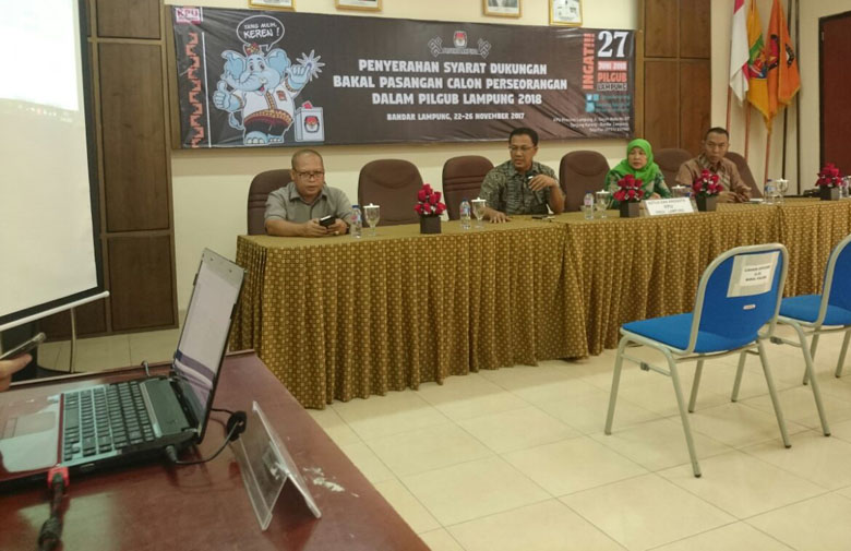 LAMPUNG POST | Ingin Maju Lewat Jalur Independen di Pilgub Lampung? Ini Syaratnya