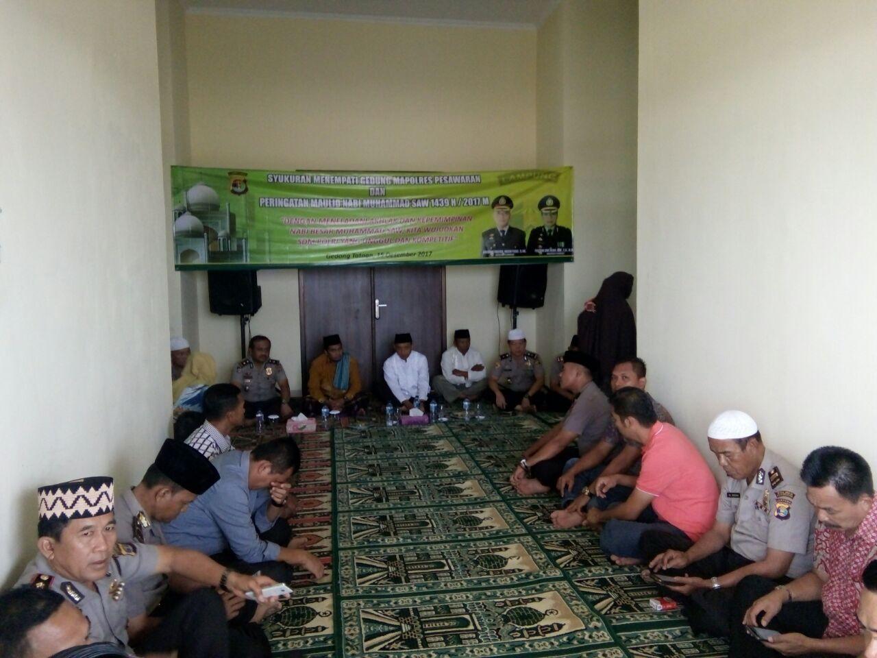 LAMPUNG POST | Polres Pesawaran Tempati Gedung Baru