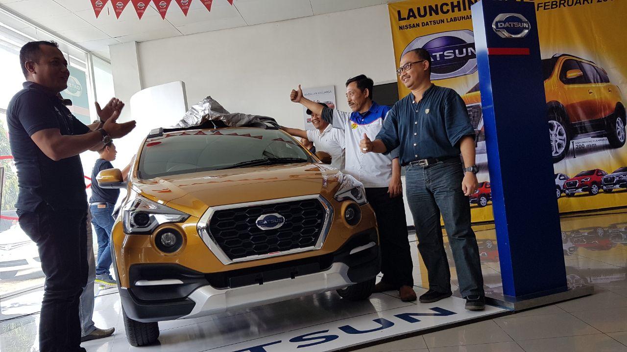 LAMPUNG POST | Datsun Cross Hadir di Lampung, Sudah Bisa Inden