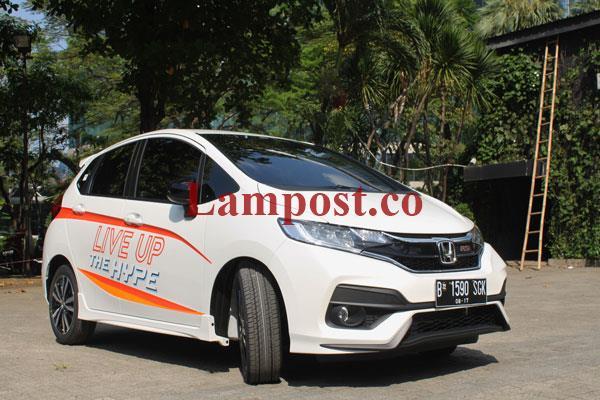 LAMPUNG POST | Kurang Sepekan, New Honda Jazz Terjual 1.112 unit