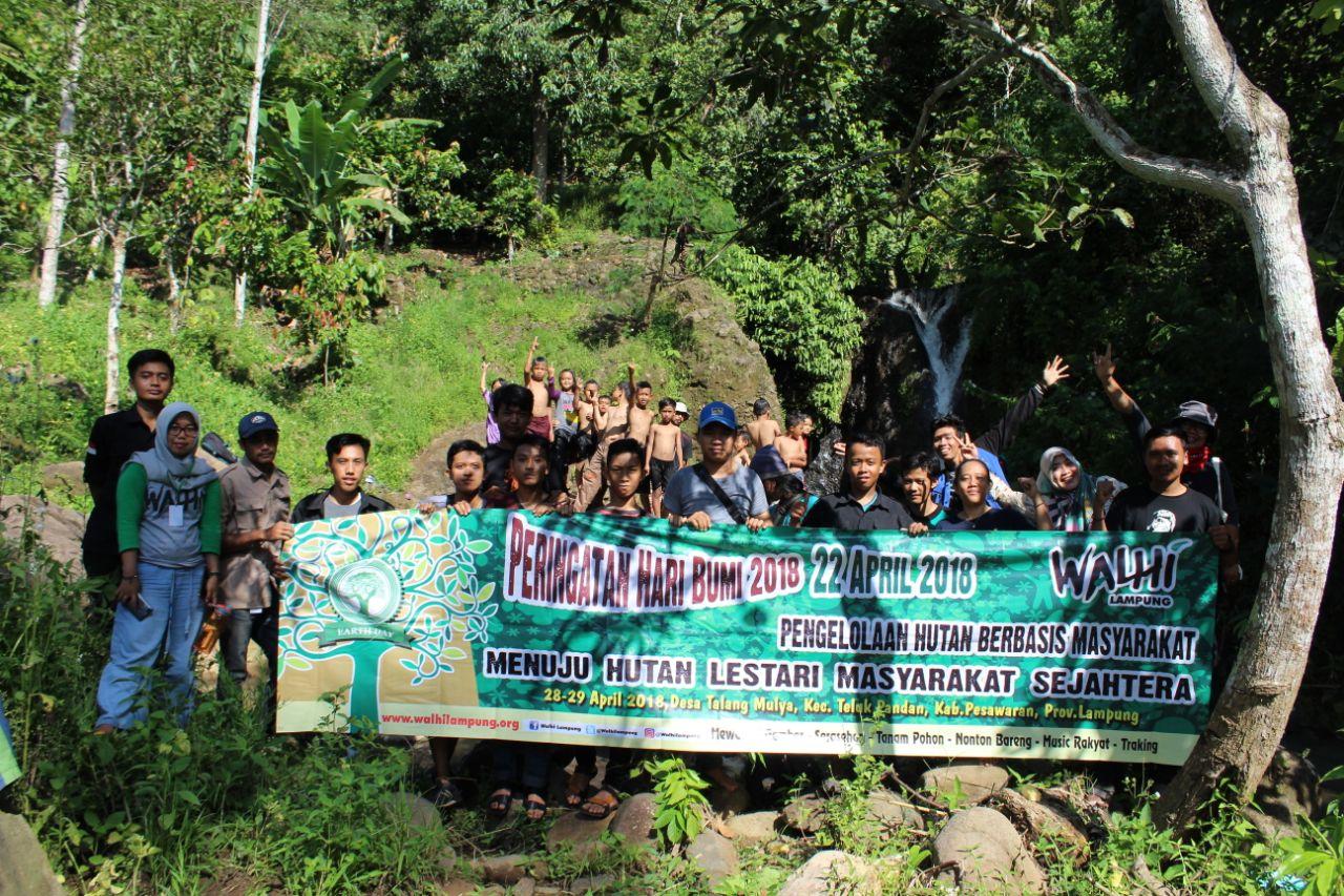 Walhi Kampanye Ajak Masyarakat Lindungi Hutan