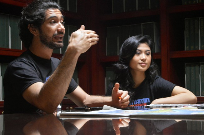 LAMPUNG POST | Adu Akting dengan Reza Rahadian, Delia Husein Gugup Setengah Mati