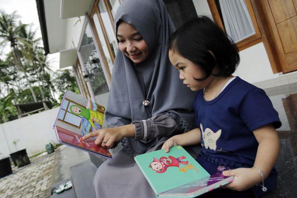 LAMPUNG POST | Mendidik Anak lewat Dongeng