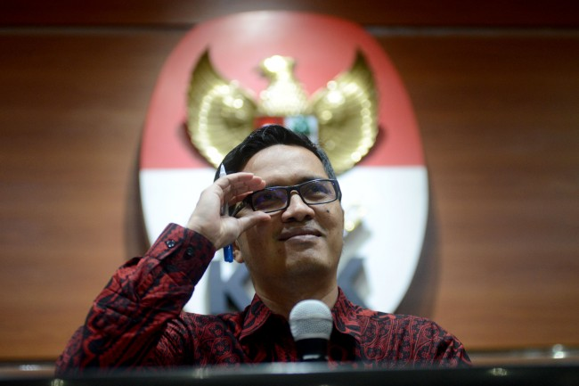 LAMPUNG POST | KPK Berharap Novanto Tak Buat 'Drama' Lagi di Sidang