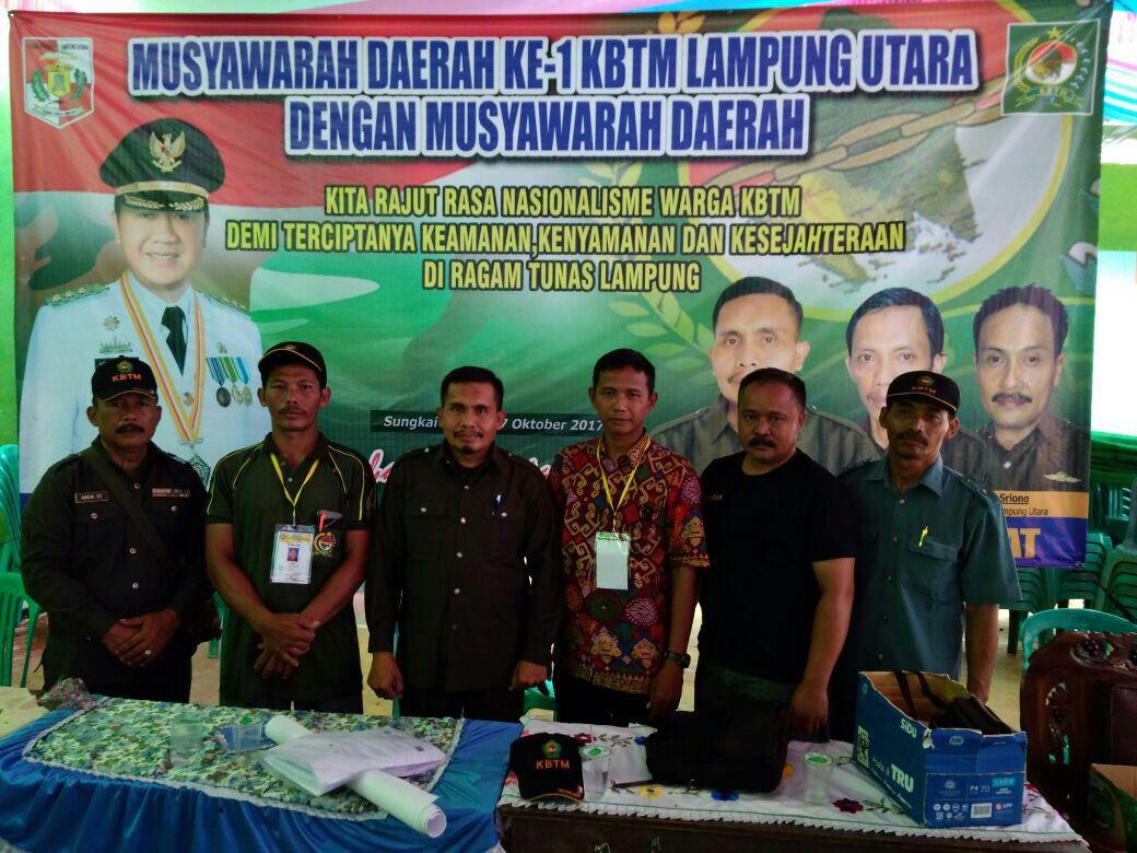 LAMPUNG POST   KBTM Provinsi Lampung Komitmen Dukung Pembangunan Lampura