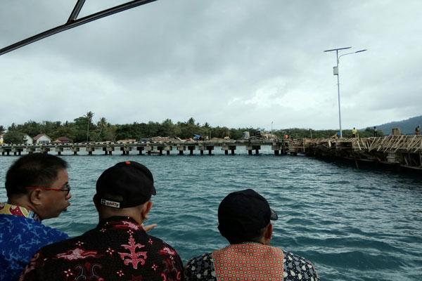 LAMPUNG POST | Pelabuhan Pulau Sebesi Beroperasi 2018