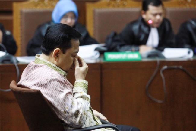 LAMPUNG POST | Setya Novanto Divonis 15 Tahun Penjara