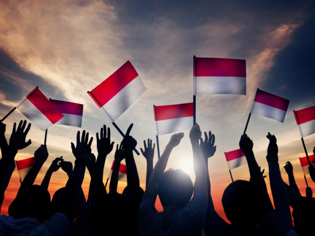 Polisi Tetapkan Tersangka Pembakaran Merah Putih di Bogor