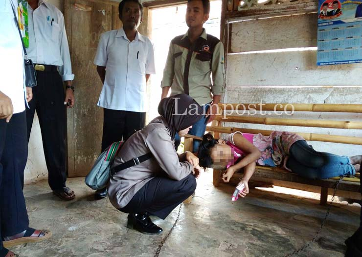 LAMPUNG POST | Nasib Malang Wulandari, Bocah 10 Tahun yang Dipasung di Sukoharjo