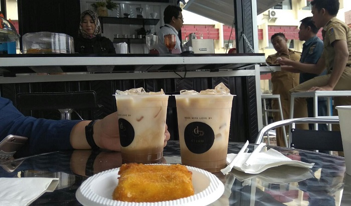 Dijou Coffee Kios Hadir di Kantor Pemprov Lampung