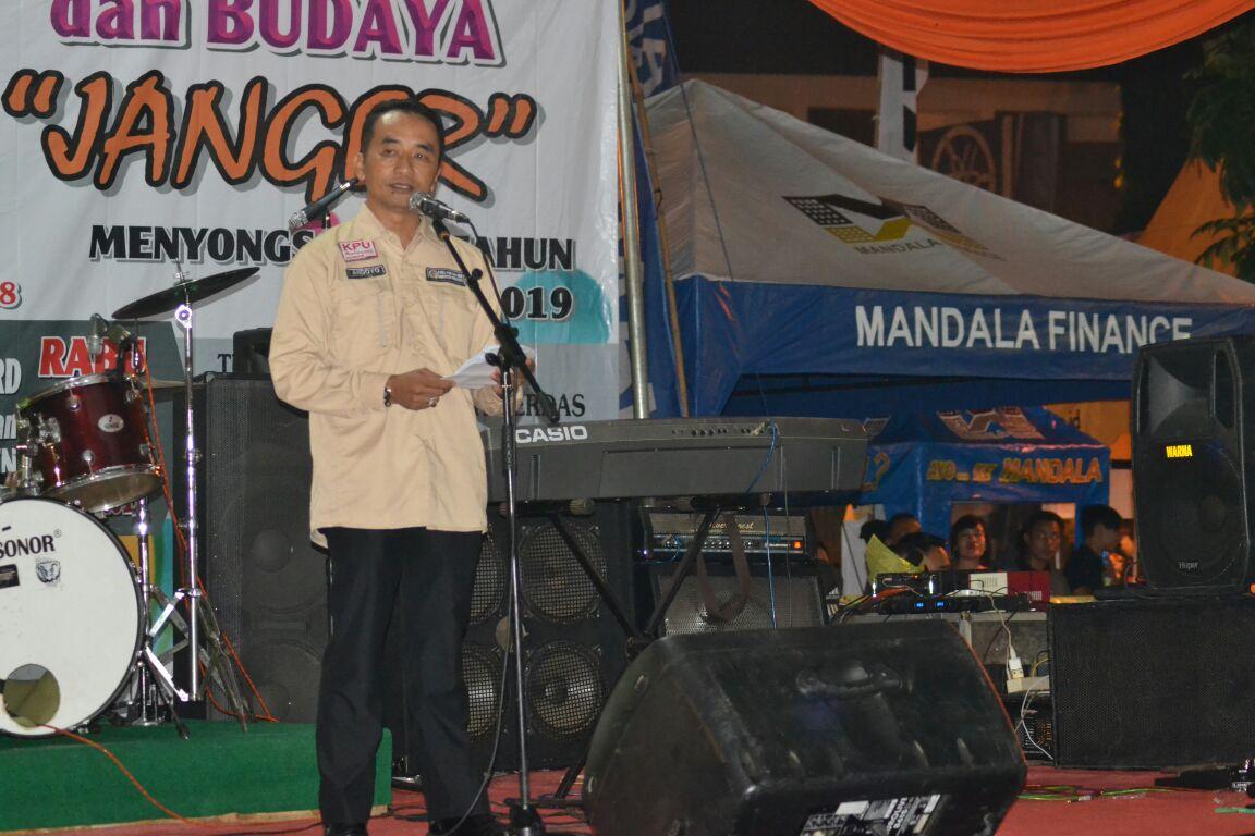 KPU Sosialisasi Pemilu dengan Menggelar Kesenian Janger